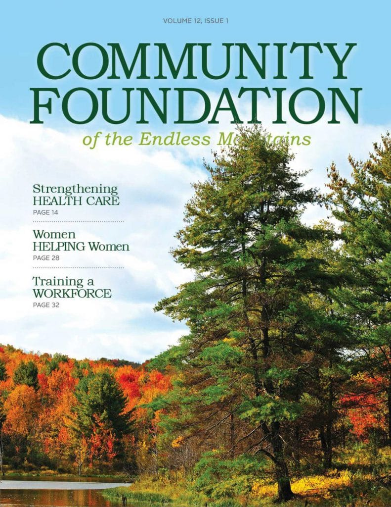 Community Foundation Magazine Printed by Rooster Creative