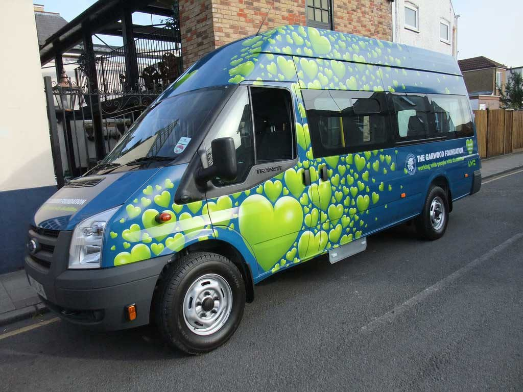 Sprinter Vehicle Wrap 3 by Rooster Creative