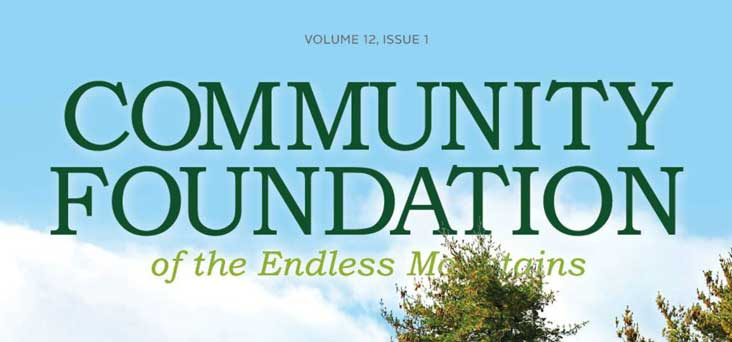 Community Foundation Magazine Printed by Rooster Creative Thumbnail