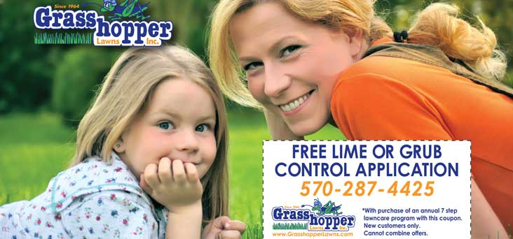 Grasshopper Lawns Post Card by Rooster Creative Thumbnail