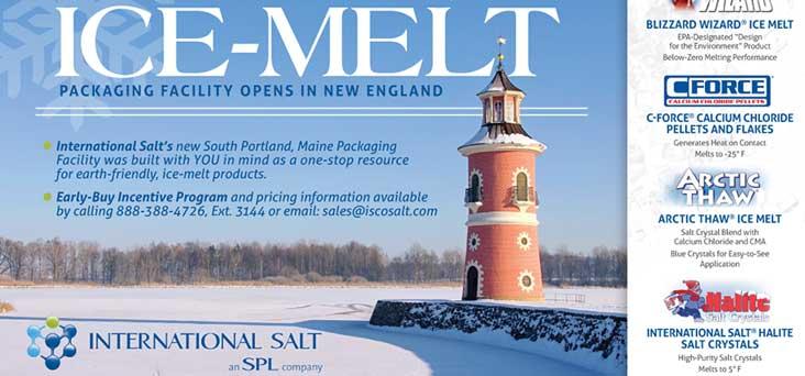 International Salt Ice Melt Post Card by Rooster Creative Thumbnail