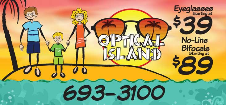 Optical Island Banner by Rooster Creative Thumbnail
