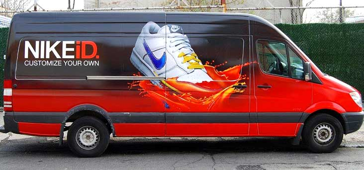 Sprinter Vehicle Wrap by Rooster Creative Thumbnail