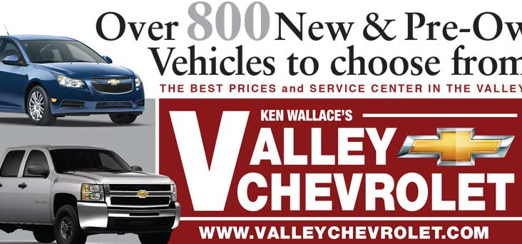 Valley Chevrolet Banner by Rooster Creative Thumbnail