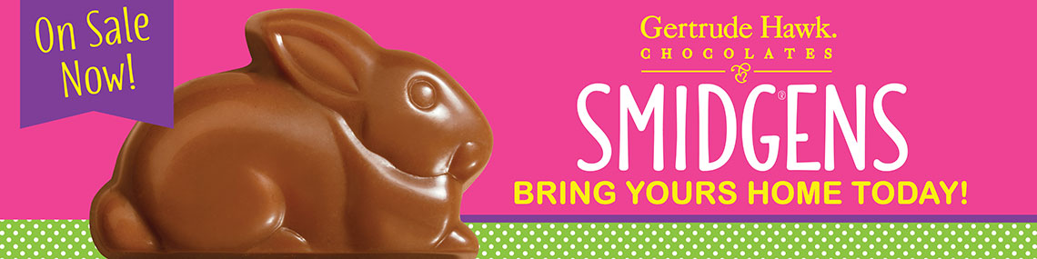 Gertrude Hawk Chocolates Easter Billboard by Rooster Creative