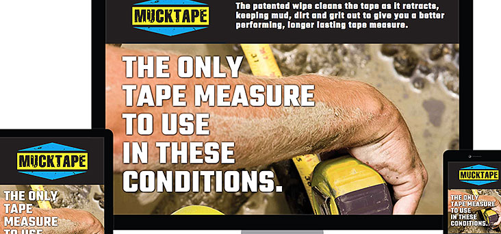 Mucktape Website by Rooster Creative Thumbnail