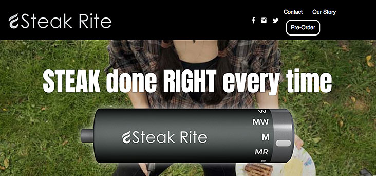 Steak Rite Website by Rooster Creative Thumbnail